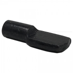 5mm Black Spoon Shelf Support Pegs