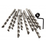 "1/4"" Brad Point Drill Bits - 10 Pack"